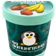 33 пингвина Клубника-банан 490 мл