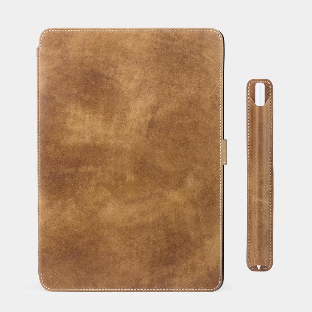 Чехол для ручки Stylus Easy из натуральной кожи теленка, цвета винтаж