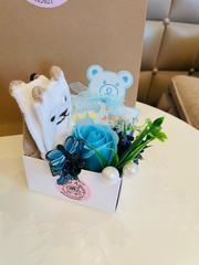 Aromalı sabun qızıl gül (uşaq) \ Ароматная мыльная роза (Baby box) corabla