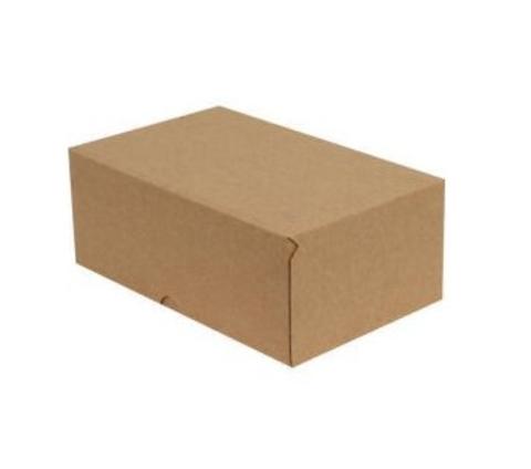 Коробка для пирожных без окошка, 15*11*6см, крафт