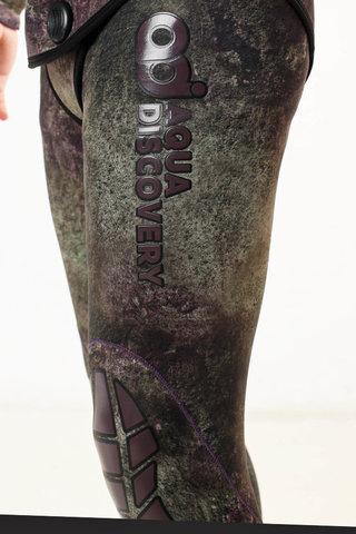 Гидрокостюм Aquadiscovery Кочевник Camo Green 7 мм – 88003332291 изображение 4