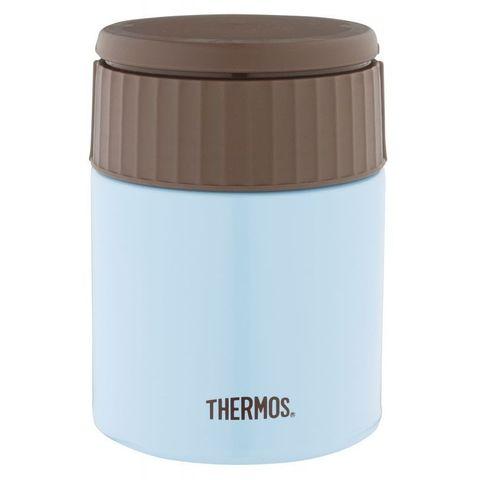 Термос Thermos JBQ-400-AQ (924698) 0.4л. голубой/коричневый