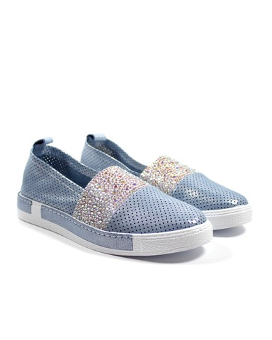 голубые туфли Donna Ricco
