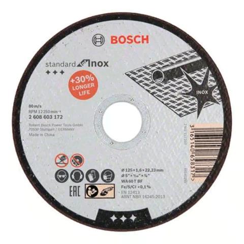 Отрезной круг Standard for Inox - Rapido 125 х 1,6 мм