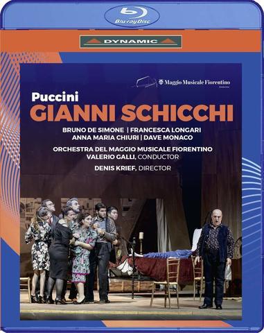 DE SIMONE, BRUNO / MAGGIO MUSICALE FIORENTINO (OPERA COMPANY): Puccini: Gianni Schicchi (Bd)