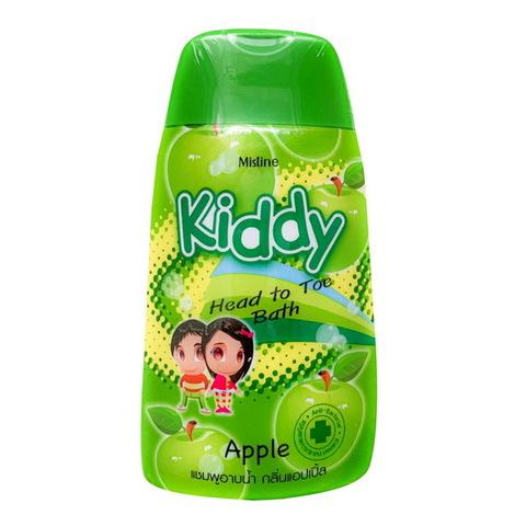 Шампунь-гель для душа для детей Kiddy c ароматом яблока Mistine 200 мл / Mistine Kiddy Head to toe Apple 200 ml