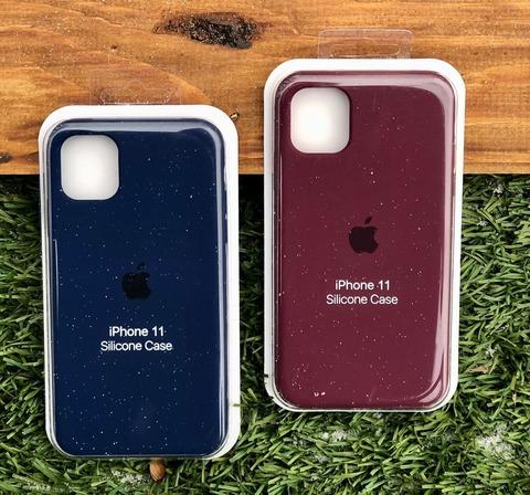 Чехол iPhone XS Max Silicone Case Full /plum/