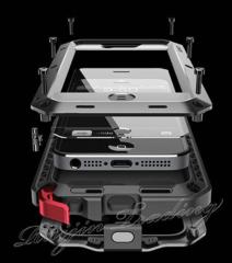 Для IPhone 5/5S. Противоударный/влагостойкий чехол
