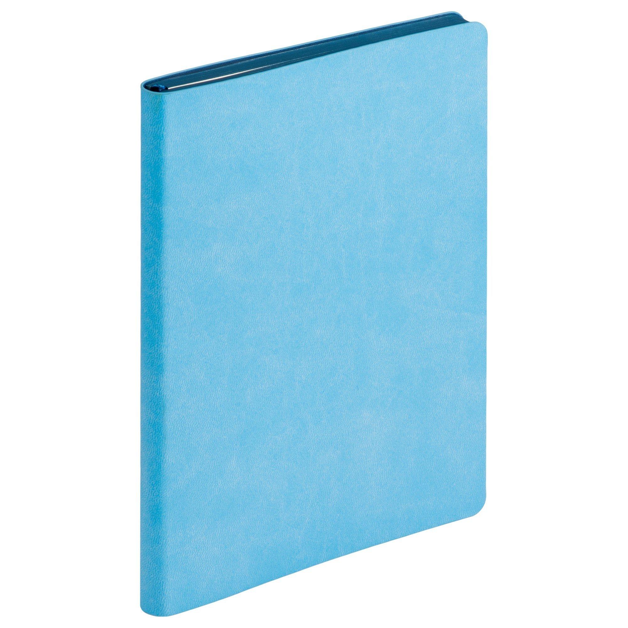 Ежедневник недатированный, Portobello Trend, Latte NEW, 145х210, 256 стр, голубой/синий