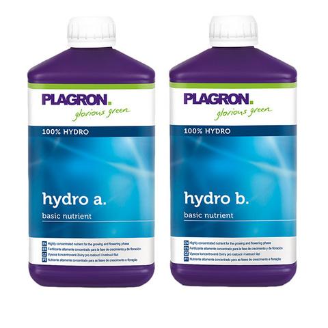 Минеральное удобрение Plagron Hydro A+B