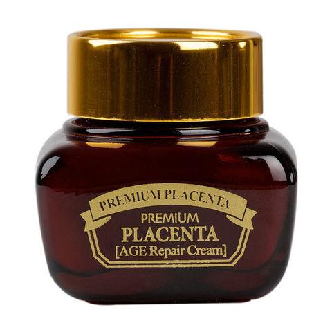 3W CLINIC ПЛАЦЕНТА Крем для лица Premium Placenta Age Repair Cream, 50 мл