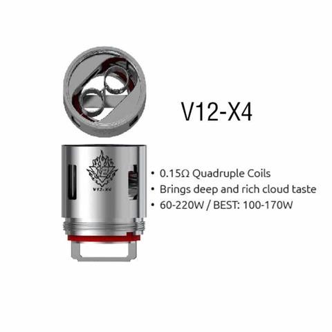 Сменный испаритель SMOK TFV12 V12-X4 0,15 Ω