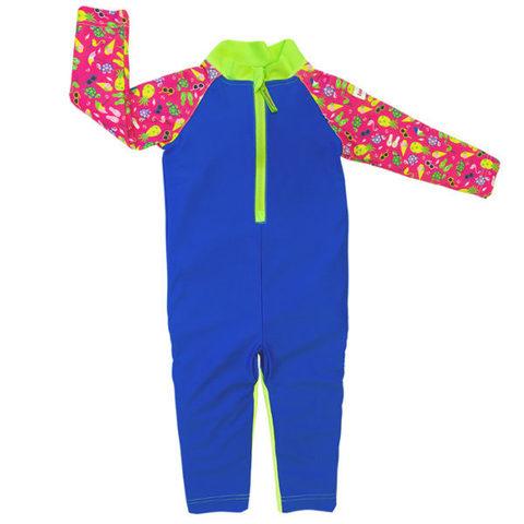 Детский плавательный костюм, print pink beach life, 86-92 см./ 1-2 г.