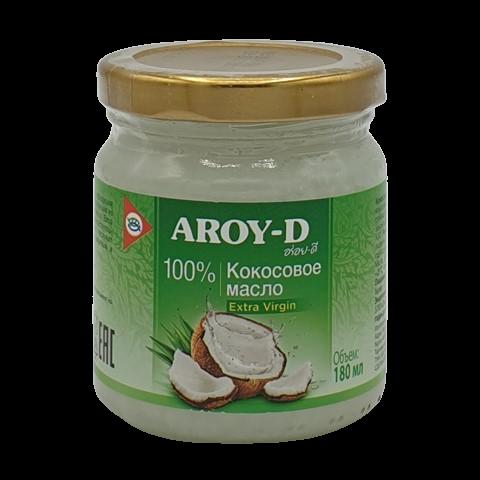 Масло кокосовое Extra Virgin AROY-D, 180 мл