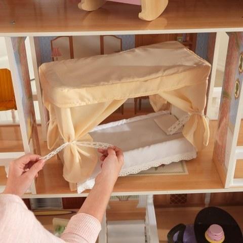 Кукольный домик для Барби KidKraft Саванна с мебелью 14 элементов 65023_KE