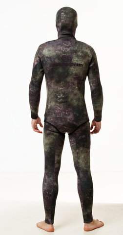 Гидрокостюм Aquadiscovery Кочевник Camo Green 7 мм – 88003332291 изображение 6