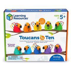 LER5458 Развивающая игрушка Считаем с туканами Learning Resources упаковка