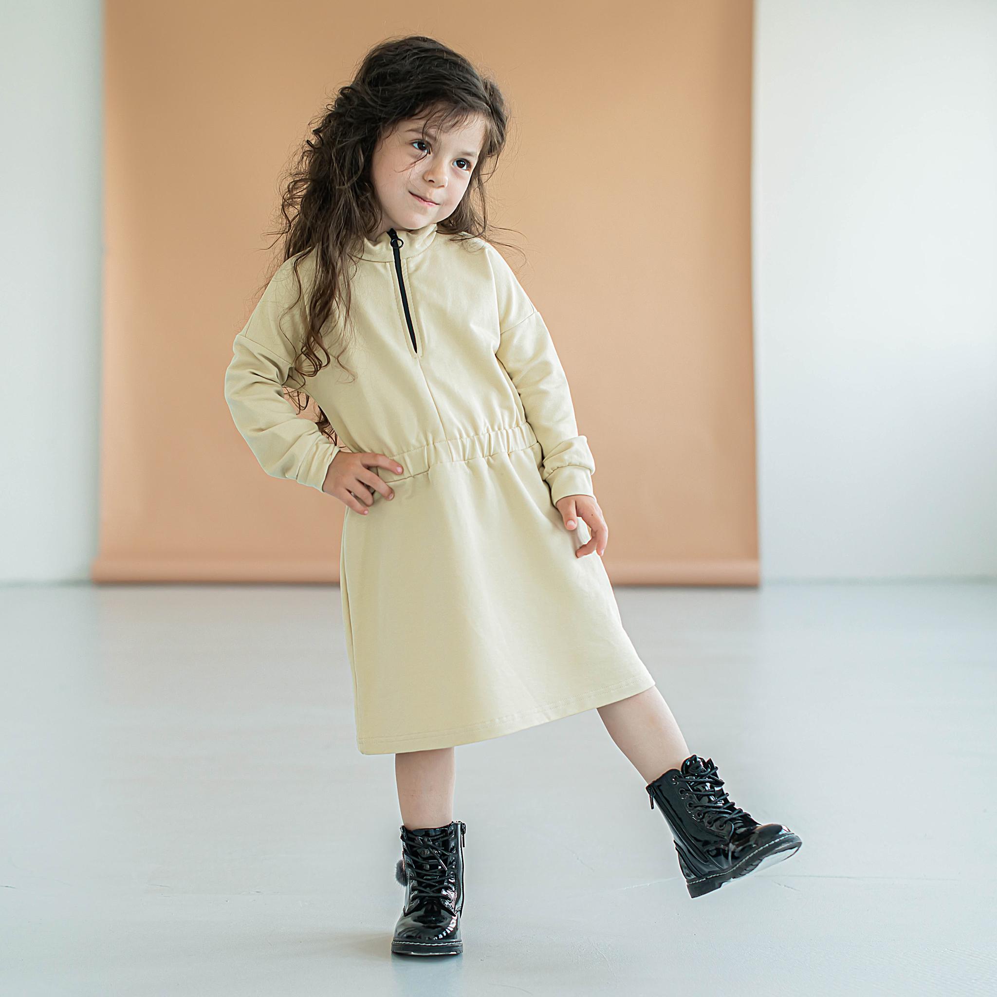 Sporty sweater dress - Safary