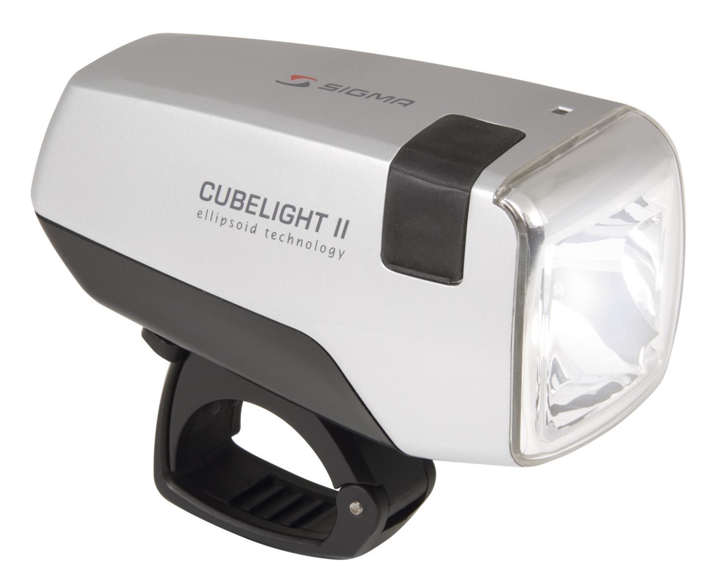 Фонарь передний SIGMA Cubelight II  галоген