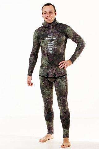 Гидрокостюм Aquadiscovery Кочевник Camo Green 7 мм – 88003332291 изображение 7