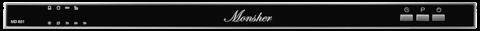Встраиваемая посудомоечная машина MONSHER MD 601