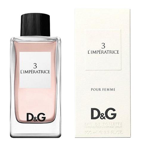 DOLCE & GABBANA: №3 L'Imperatrice женская туалетная вода edt, 50мл/100мл