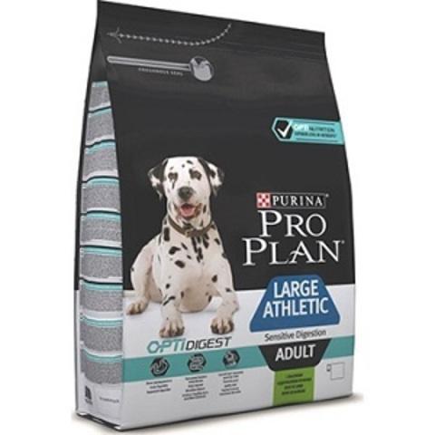 Pro Plan Optidigest Adult Large Athletic сухой корм для крупных с собак с атлетическим телосложением с чувствительным пищеварением с ягненком