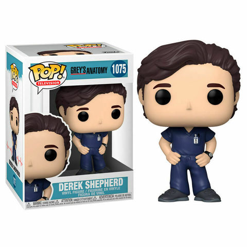 Funko POP! TV Greys Anatomy Derek Shepherd