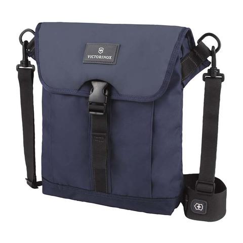 Сумка Victorinox Altmont 3.0 Flapover Bag, синяя, 27x6x32 см, 5 л