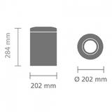 Несгораемая корзина для бумаг (7л), артикул 378928, производитель - Brabantia, фото 6