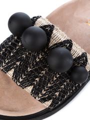 Шлепанцы INUIKII 70104-3 black