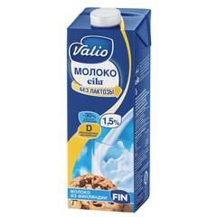 Молоко Valio Eila питьевое ультрапастеризованное безлактозное c витамином D 1.5% 1 л