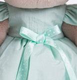 Зайка Ми в мятном платье со стрекозой (малая)