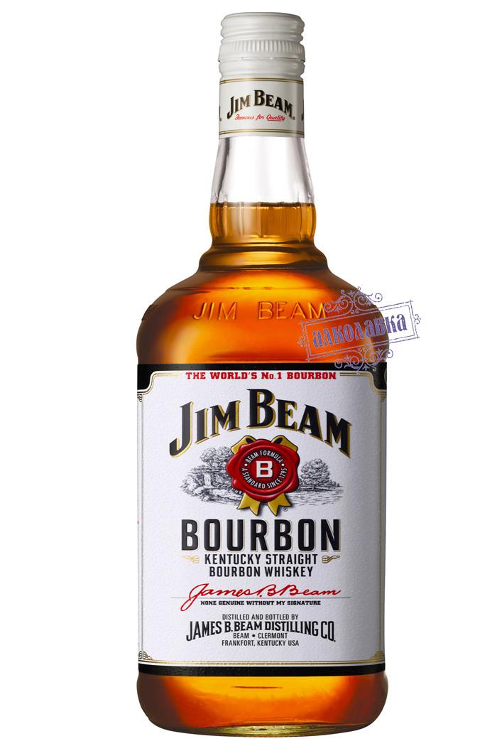 Бурбон Джим Бим. Американский виски. 1 Л