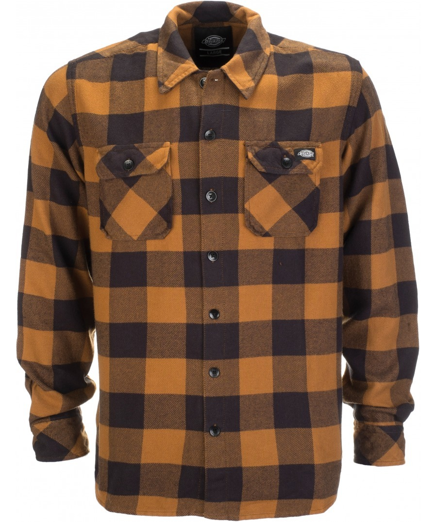 Рубашка DICKIES Sacramento (Brown Duck)