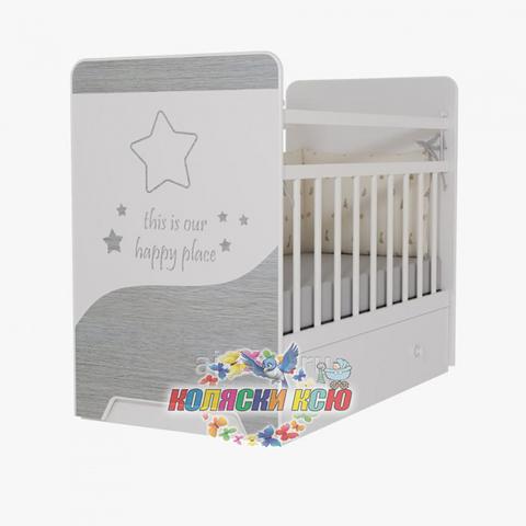 Кровать детская COSMIC (маятник, ящик)