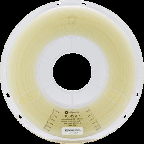 PolyMaker PolyCast, 1.75 мм, 0,75 кг, Натуральный