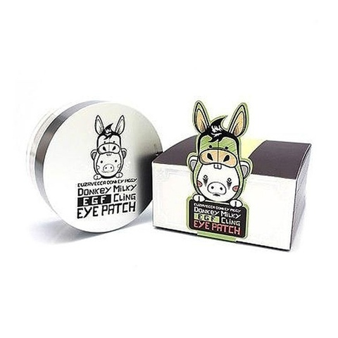 Elizavecca Патчи тканевые с молоком ослиц Donkey Piggy Milky EGF Cling Eye Patch 60 шт