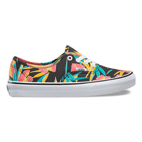Кеды VANS UA AUTHENTIC (TROPICAL LEAVES) Black