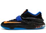Кроссовки Мужские Nike KD VII Black Blue Orange