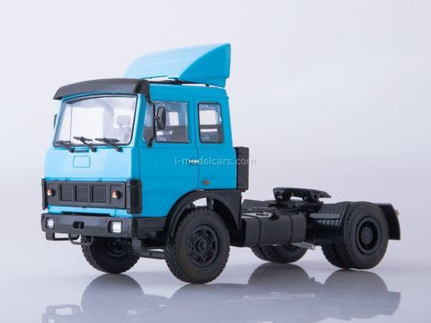 MAZ-5432 tractor truck blue 1:43 Our Trucks #43