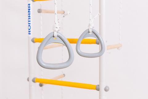 Шведская стенка ROMANA R1 (гимнастические кольца)