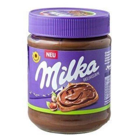 Шоколадная паста Milka Haselnusscreme 300 гр