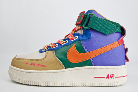 кроссовки Nike Air Force 1 Mid Wmns Multicolor