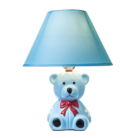 Настольный светильник Escada 10179/L E27*60W Blue bear