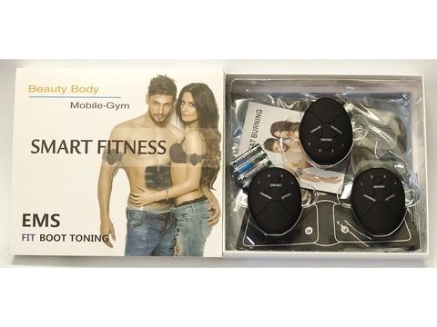 Стимулятор мышц пресса Beauty body mobile gym пояс Ems-trainer миостимулятор бабочка