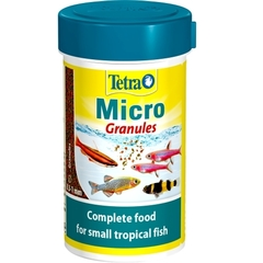 Корм для мелких видов рыб, Tetra Micro Granules, 100 мл