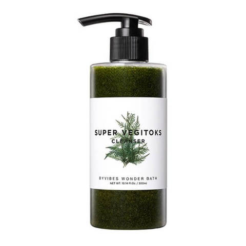 Wonder Bath Очищающий детокс-гель Wonder Bath SUPER VEGITOKS CLEANSER [GREEN] 300ml