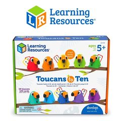 Считаем с туканами брэнд Learning Resources
