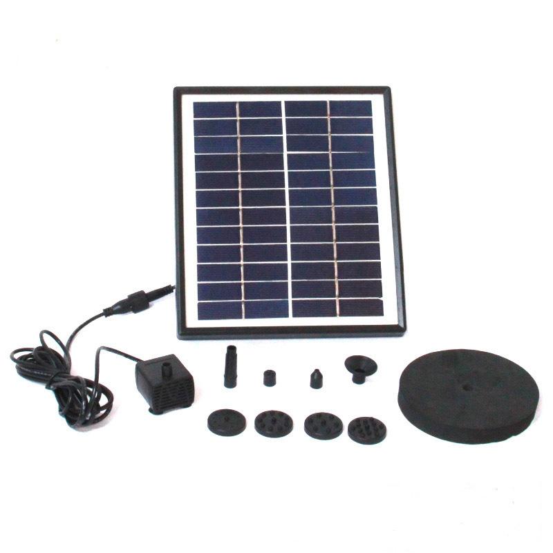 Фонтан беспроводной EPECOLED 90см (на солнечной батарее)
